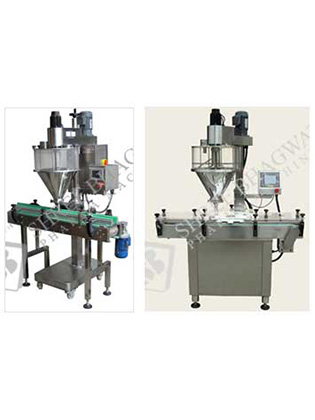 Automatic Single Head Auger Type Powder Filling Machine