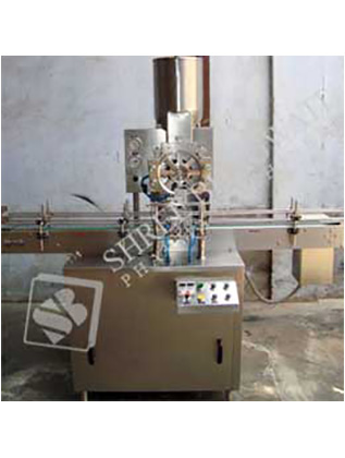 Automatic Single Head Dry Syrup (Micro Doze Type) Powder Filling Machine