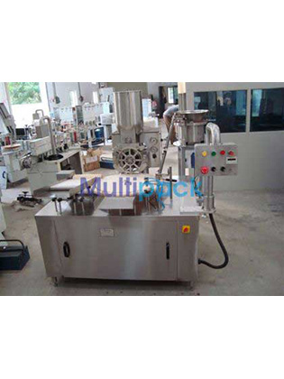 Automatic Single Head Rotary Dry Syrup Powder Filling Machine