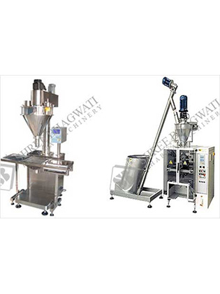Automatic Vertical Form, Fill & Seal Powder Packing Machine (Auger Type)