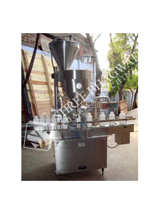 Automatic Volumetric Cup Type Powder Filling Machine