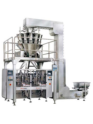 Multi-Heads Weigher Vertical Bagger Pouch Packing Machine