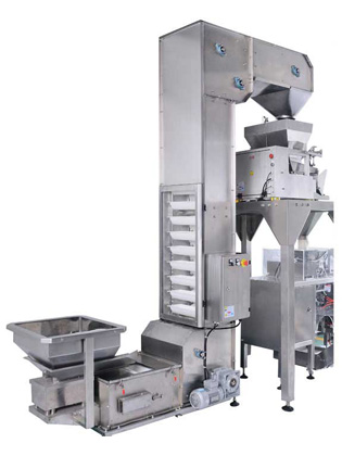 Vffs Bagging Machine With Check Weigher Machine