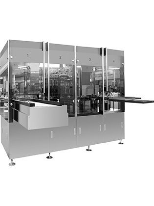 Vial and Bottle Visual Inspection Machine with Camera System