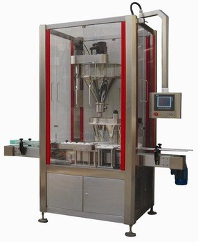 Rotary Monoblock Dry Syrup Powder Filling Machine